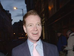 James Hewitt, pictured here in 2004, had a five-year relationship with Princess Diana