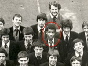 Khalid Masood  at school