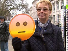 A Norwich lady has mixed feelings about Brexit