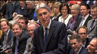 Philip Hammond joked plenty as he delivered his first Budget