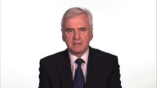 Shadow chancellor John McDonnell criticises the Budget