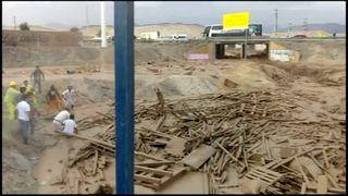Peru mudslide