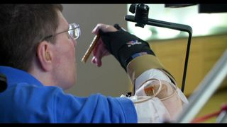 Bill Kochevar, 56, was paralysed below his shoulders