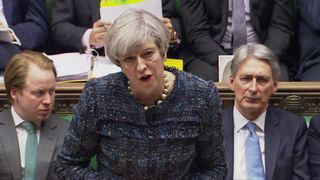Theresa May denies that her approach to school funding amounts to ignoring a manifesto pledge