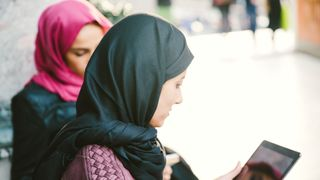 The European Court of Justice has rules that companies can ban Muslim staff from wearing headscarves