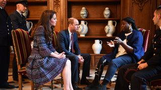 Kate and William met victims of the Paris and Nice terror attacks