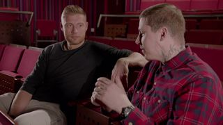 Professor Green talks with Andrew Flintoff about mental health
