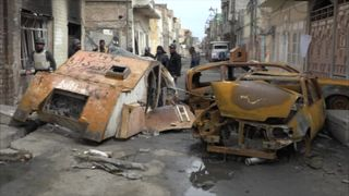 IS pack vehicles with explosive material in Mosul to create maximum havoc