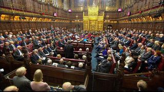 The House of Lords was packed for the debate on the bill to trigger Article 50