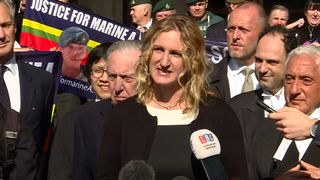 Claire Blackman has campaigned against her husband's conviction