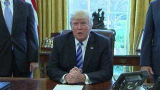 Donald Trump emphatically denies that Obamacare has a future
