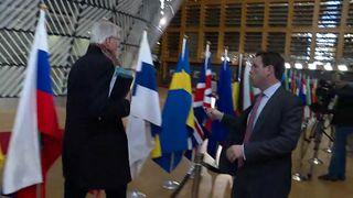 Michel Barnier struggles to escape Mark Stone
