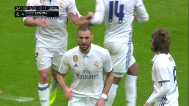 Benzema breaks the deadlock