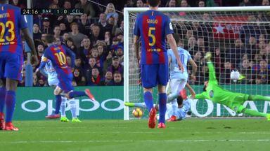Barcelona 5-0 Celta Vigo