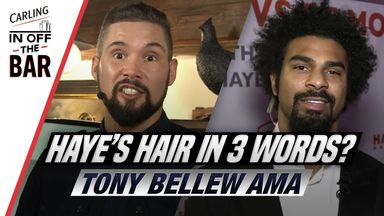 Ask Me Anything with Tony Bellew