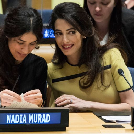 Amal Clooney: 'Don't let Islamic State get away with genocide'