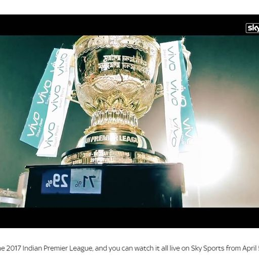 Sky signs new IPL rights deal