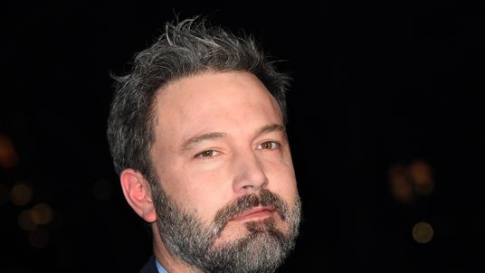 Ben Affleck at the premiere of his film Live by Night in London in January