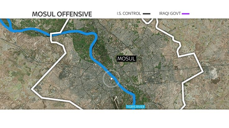 Where the blast took place in Mosul