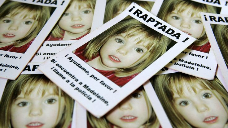 Leaflets showing missing girl Madeleine McCann were handed out to Spanish football fans in 2007