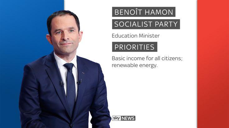 Socialist Benoit Hamon