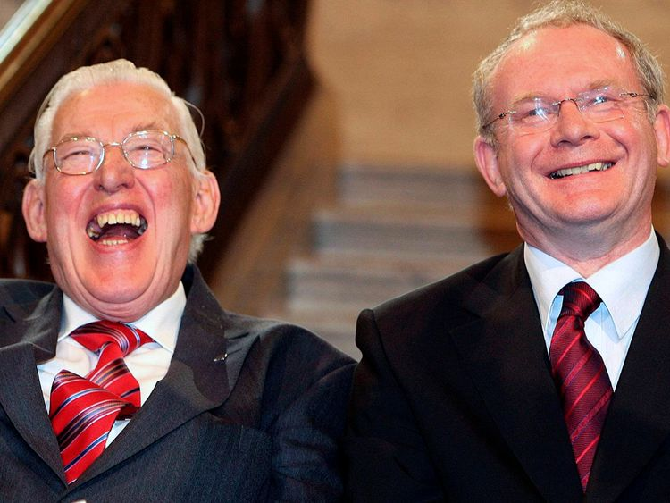 Ian Paisley and Martin McGuinness found a way to forge a partnership