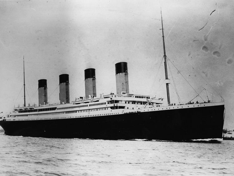 The ill-fated White Star Liner sailed from Southampton