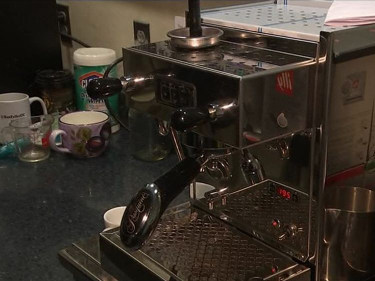 The coffee machine Tom Hanks gifted to journalists at the White House
