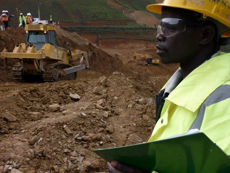 Armed robbers attempted to raid the Twangiza mine last month