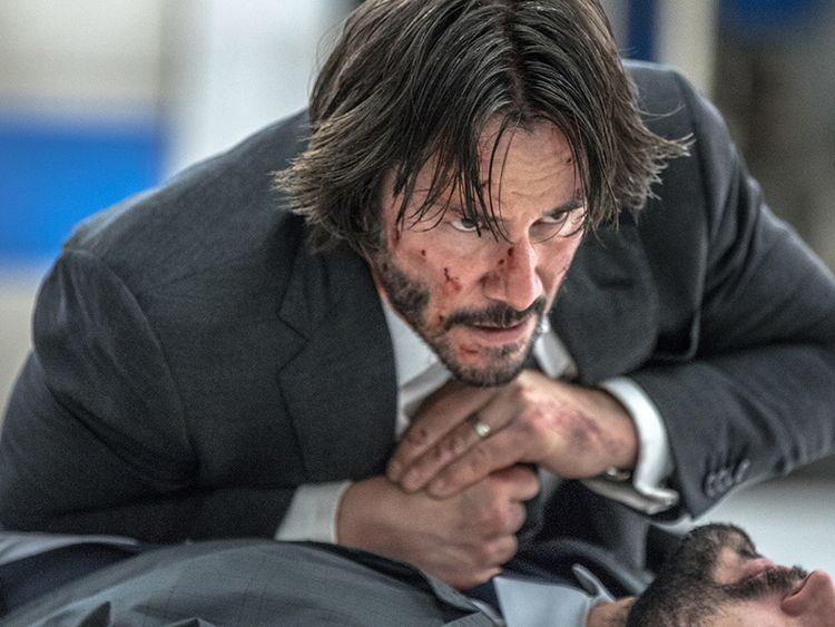 Reeves has re-found glory playing a reluctant hero in the John Wick series