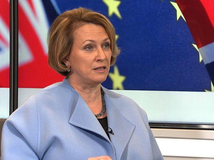 Inga Beale, arch executive of Lloyds of London