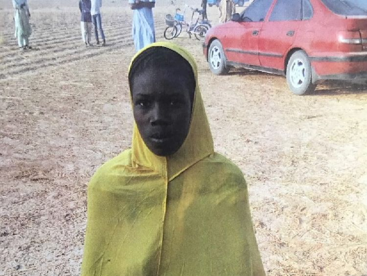The teen said she wore the explosive for three days before summoning the courage to venture into Maiduguri
