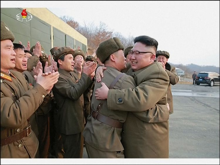 North Korea said the engine would be used for satellite launches