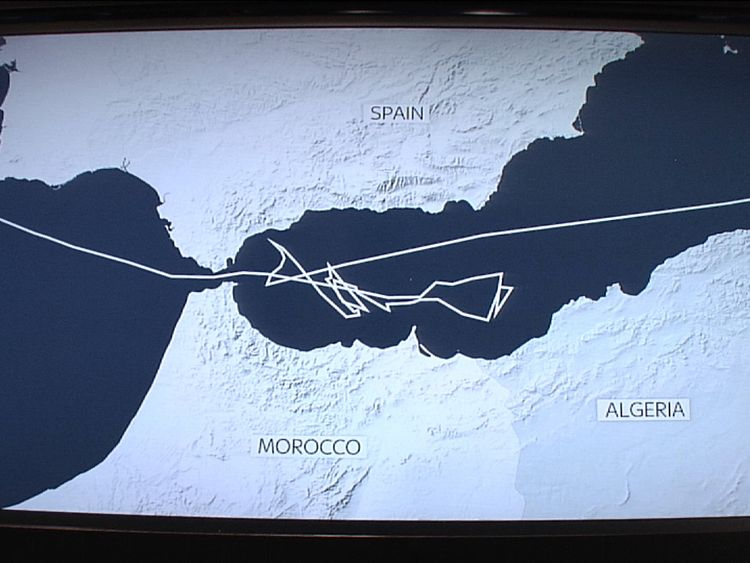 A tanker 'went dark' for 28 hours off Algeria in an area notorious for drugs, arms and people smuggling