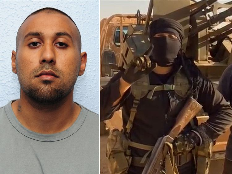 Imran Khawaja was jailed for 12 years after returning from Syria