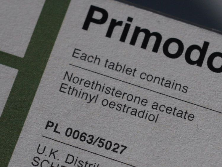 Primodos packaging