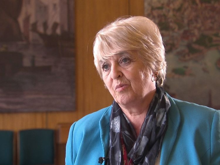 Local Conservative councillor Lynda Bowyer