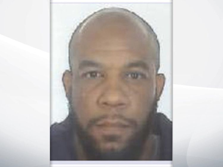 This picture of Khalid Masood was released by the Metropolitan Police