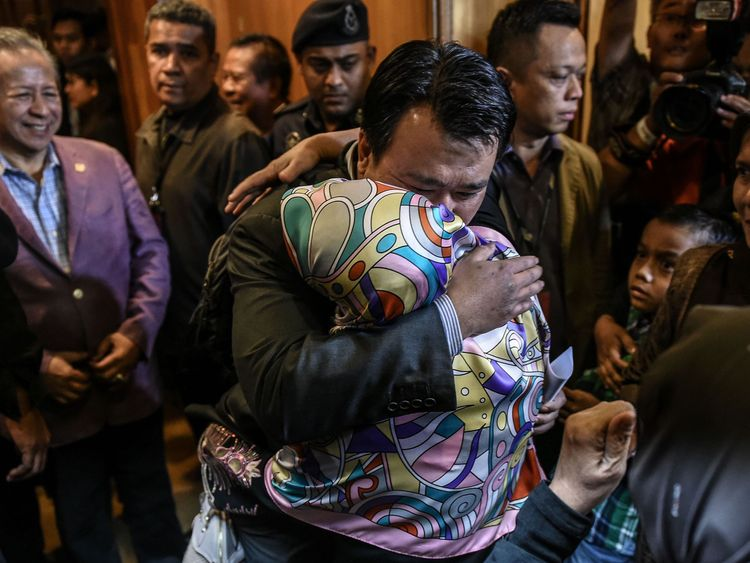Malaysian nationals return home after being held in North Korea