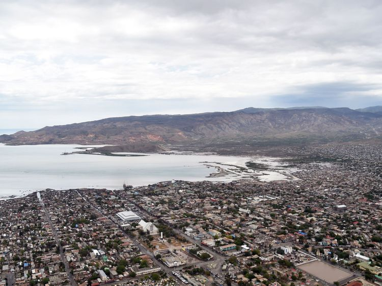 Gonaives, the capital of Artibonite Department in northern Haiti, 150 kilometers from Port-au-Prince