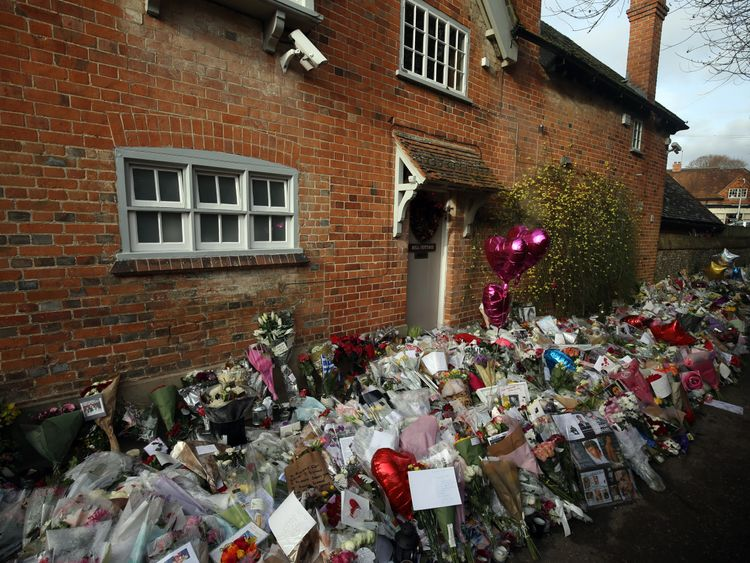 George Michael's Oxfordshire home