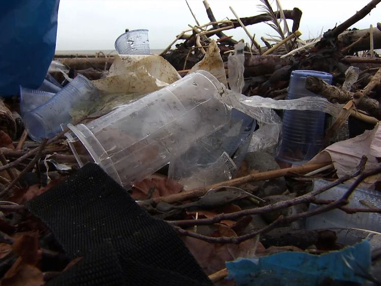 Discarded plastic blights the country's beaches and waterways