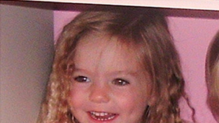 One of the first photos of Madeleine released after her disappearance