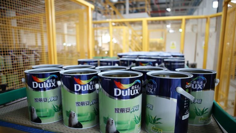 Akzo Nobel has the Dulux, Hammerite and Polycell brands in its stable