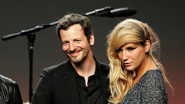 Dr Luke and Kesha in 2011