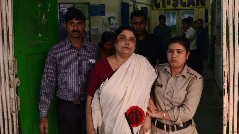 Orphanage owner Chandana Chakraborty  was arrested on 22 February