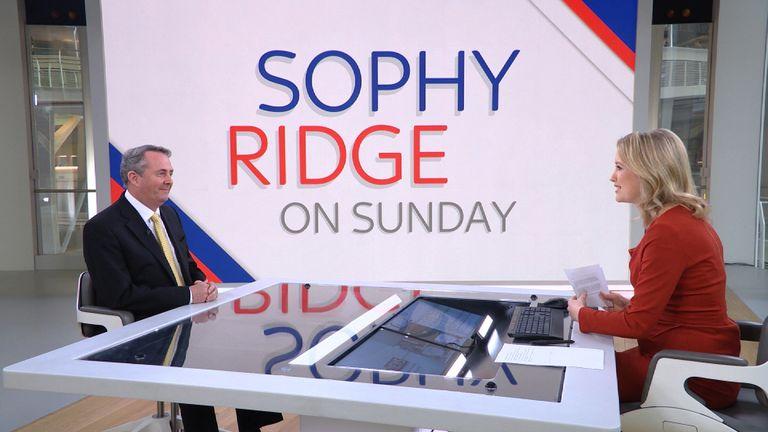 Liam Fox on Sky's Sophy Ridge on Sunday