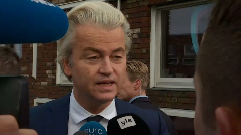 Mr Wilders insists his campaign is not based on fear and bigotry