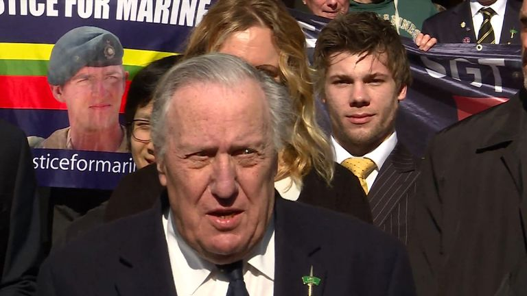 Author Frederick Forsyth has long supported Sgt Blackman