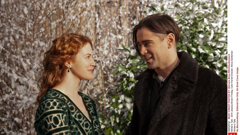 Findlay starred alongside Colin Farrel in Winter's Tale